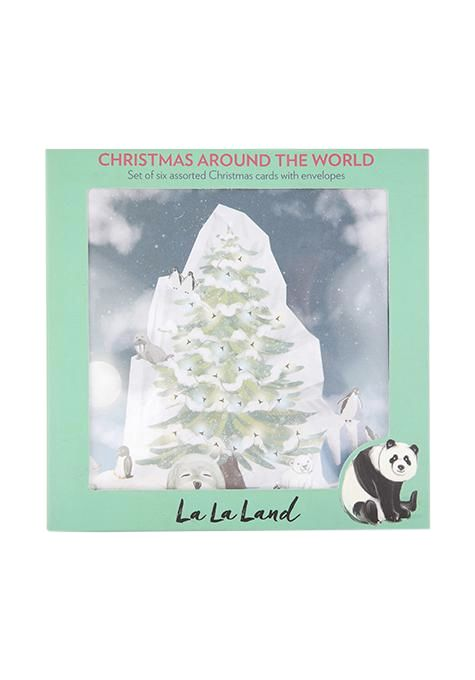 La Land World Christmas Card