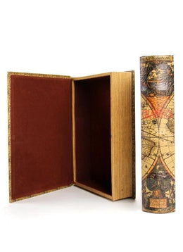 Large Atlas Book Box