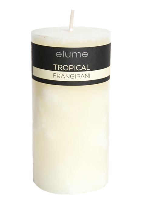 Large Elume Tropical Frangipani Candle