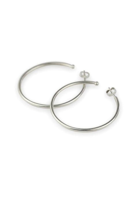 Large High Polish Hoops