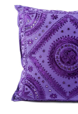 Large Purple Pakka Cushion