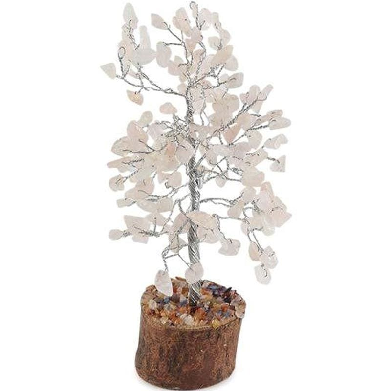 Large Rose Quartz Tree