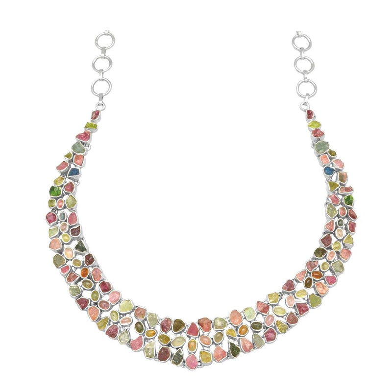 Layered Tourmaline Necklace