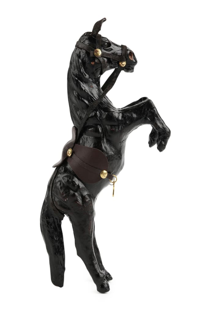Leather Animal Statue
