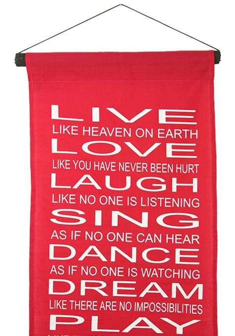 Live Love Sing Banner