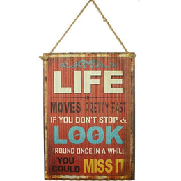 Look At Life Sign