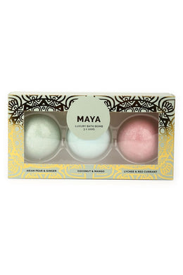 Maya Bath Bomb Set Of Three