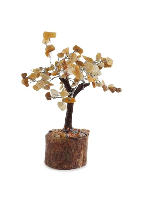 Medium Golden Quartz Tree