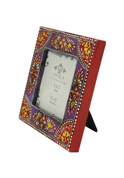 Mini Purple Picture Frame Photo Frames Ishka