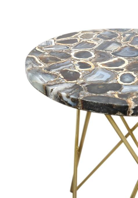 Montana Agate Side Table
