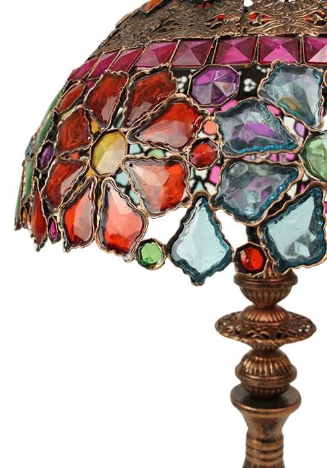 Multi Colour Table Lamp