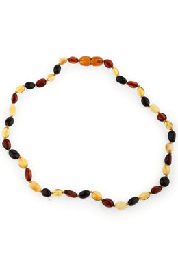 Multicolour Amber Beaded Necklace