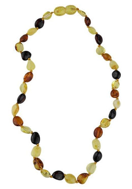 Multicolour Amber Teething Necklace