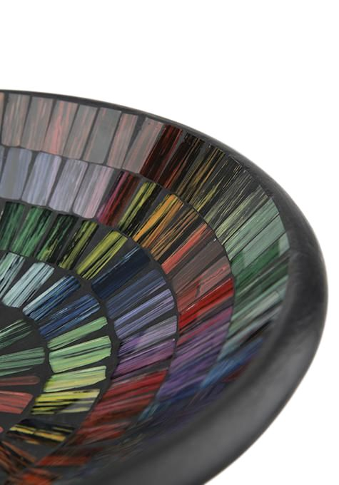 Multicolour Mosaic Round Bowl