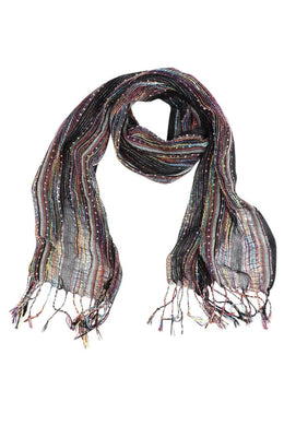 Multicolour Textured Scarf