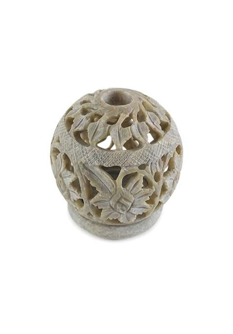 Natural Ball Candle Holder