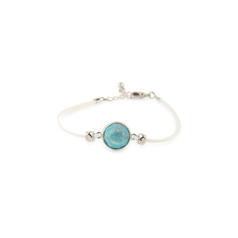 Natural Facet Turquoise Bracelet