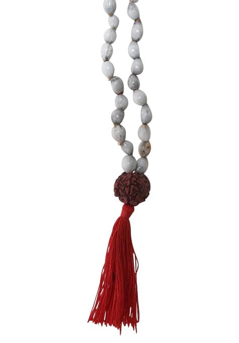 Natural Seed & Rudraksha Necklace
