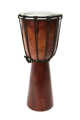 Natural Wooden Djembe