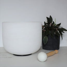 Singing Bowl 10 inch Quartz
