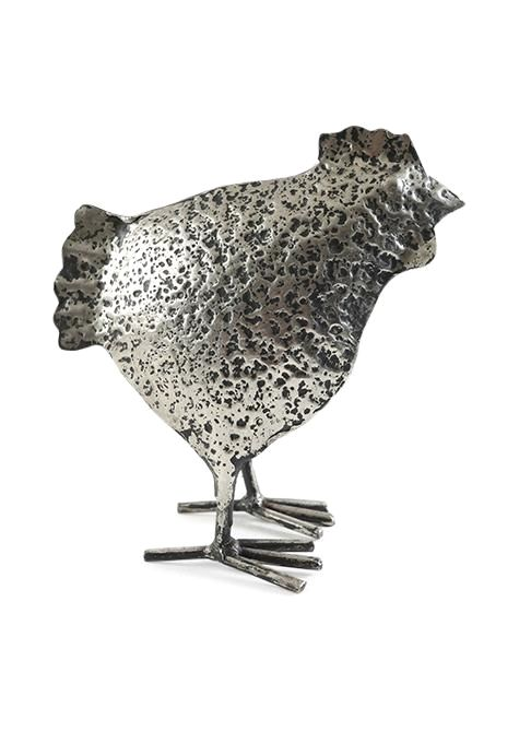 Nickel Hen Statue