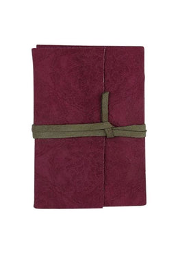 Notebook Purple In Suede