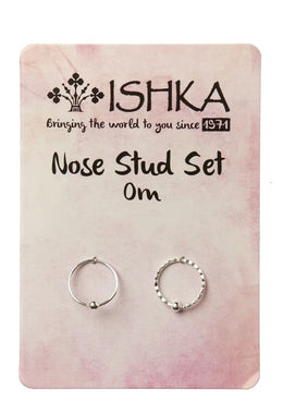 Om Nose Ring Set