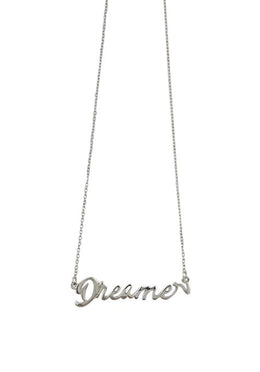 One Word Dreamer Necklace