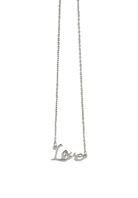 One Word Love Necklace