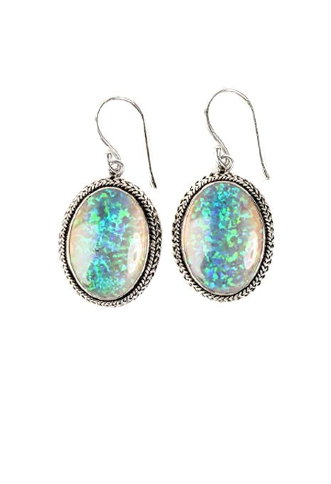 Opal Detailed Earrings