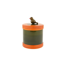 Orange Bird Container