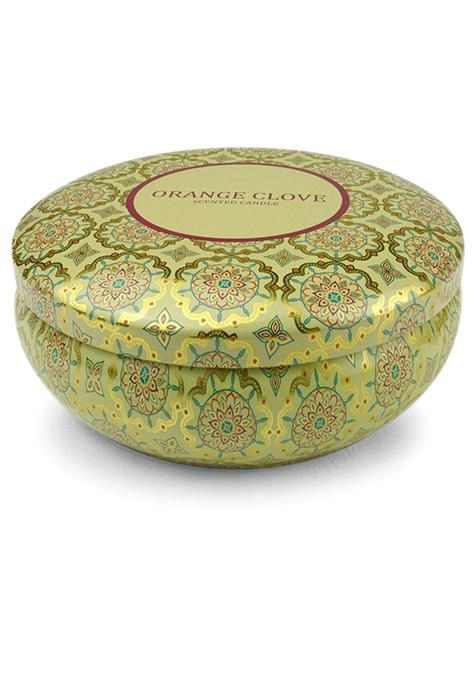 Orange Clove Travel Tin Candle