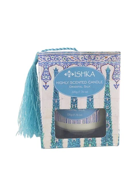 Oriental Silk Candle