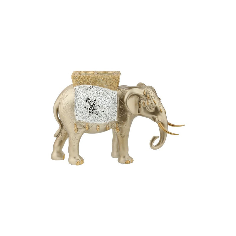 Ornamental Elephant Candle Holder