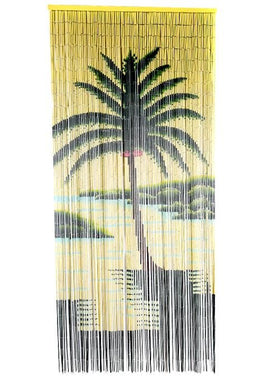 Palm Tree Door Curtain
