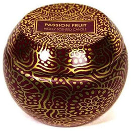 Passionfruit Travel Tin Candle