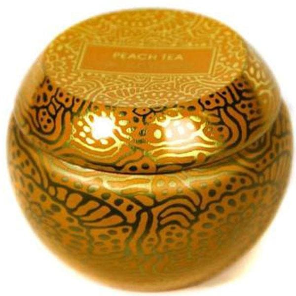 Peach Tea Travel Tin Candle