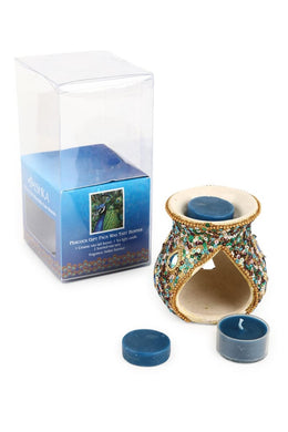 Peacock Oil Burner Giftpack