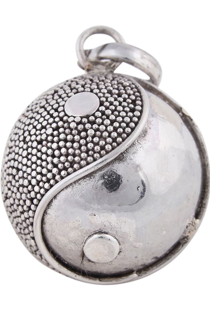 Pendant Harmony Ball 23Mm Assorted Dotted Yin Yang