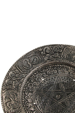 Pentagram Incense Holder Plate