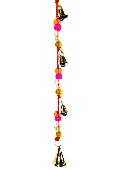 Pink Bead & Bells String