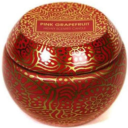 Pink Grapefruit Travel Tin Candle