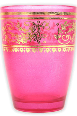Pink Moroccan Tea Glass