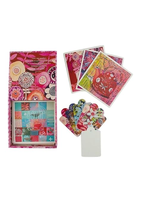 Pink Notecard Gift Set