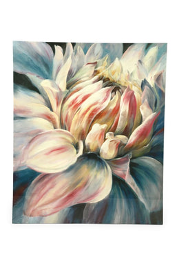 Pink Protea Gel Print Canvas