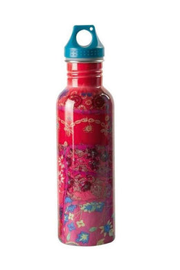 Pink Sari Stainless Steel Water Bottle