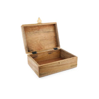 Plated Wooden Box