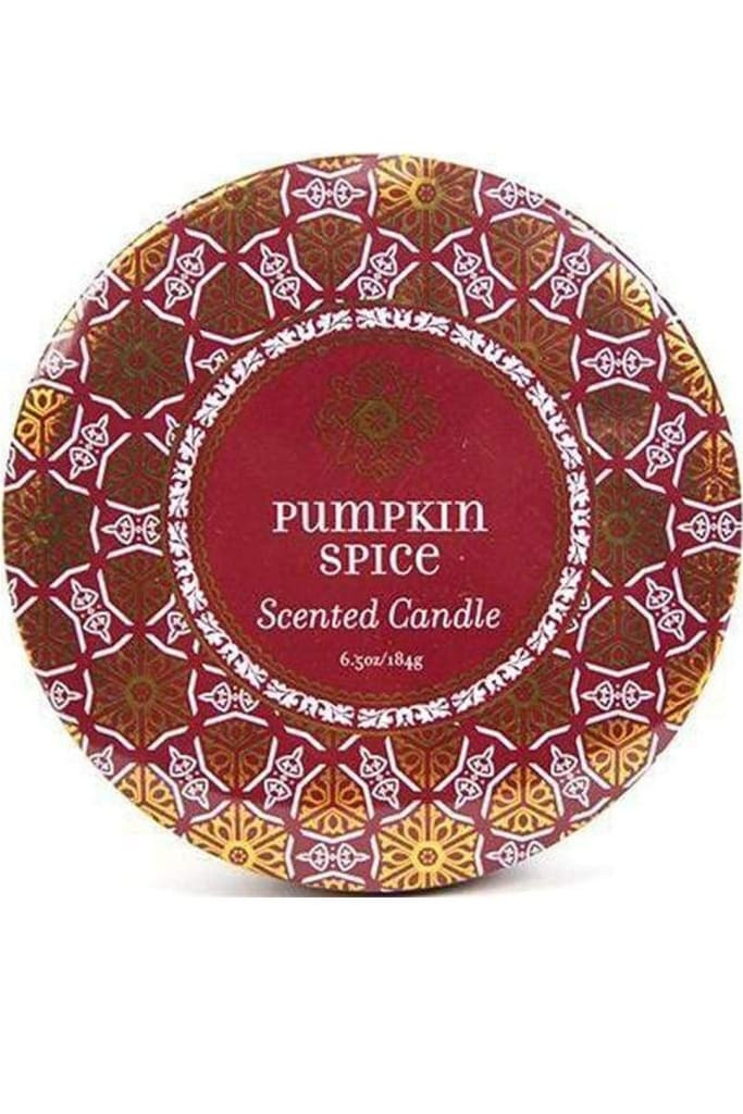 Pumpkin Spice Travel Candle