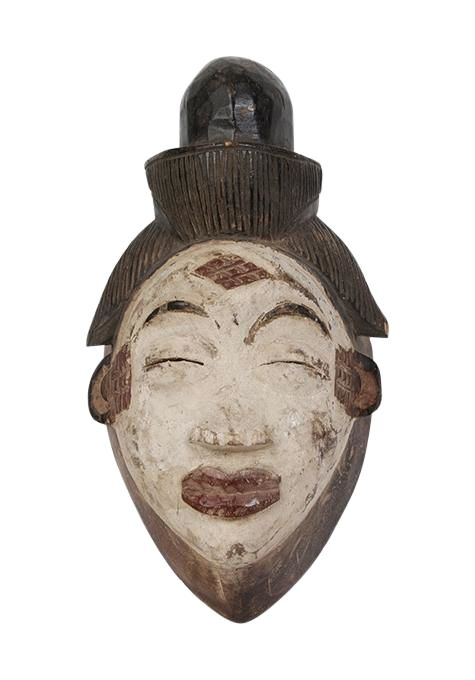 Punu Wood Mask