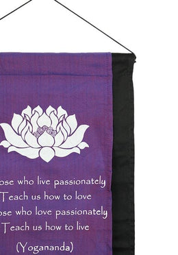 Purple Lotus Banner